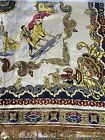 VINTAGE MADE IN SPAIN TABLE COVER TAPESTRY PIANO SHAWL BULLFIGHTER/MATADOR