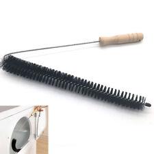 82cm Cleaning Brush Metal Fiber Tube Washing Machine Pipe Cleaner Tool Black