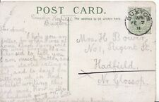 Family History Postcard - Bower - Hadfield - Near Glossop - Ref 1888A