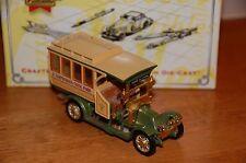 MATCHBOX COLLECTIBLES YET06-M 1910 RENAULT MOTOR BUS - PARIS, FRANCE