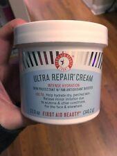 New FAB First Aid Beauty Ultra Repair Cream Intense Hydration 12oz Jumbo Size