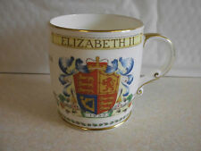 Foley Elizabeth II Coronation Mug