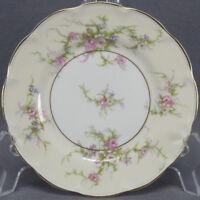 Vintage Set of 5 Haviland New York France Rosalinde Bread & Butter Plates