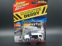 JOHNNY LIGHTNING 1997 CHEVY TAHOE POLICE DEMOLITION DERBY CAR VS B REL 1 NO 5