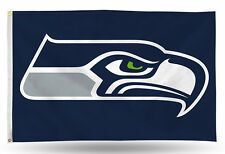 Seattle Seahawks Authentic 3x5 Indoor/Outdoor Flag Banner NWT