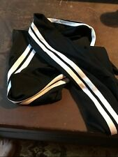 RALPH LAUREN COLLECTION Scarf Black with White Stripes