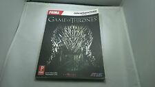 GAME OF THRONES PRIMA OFFICIAL STRATEGY GAME GUIDE PC PS3 XBOX 360