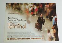 The Terminal 2004 Original UK Mini Quad Cinema Poster