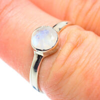 Rainbow Moonstone 925 Sterling Silver Ring Size 7 Ana Co Jewelry R51836F