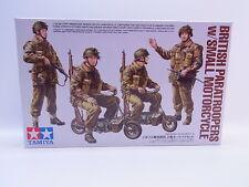 LOT 26606   Tamiya 35337 British Paratroopers Motorcycle 1:35 ungebaut NEU OVP