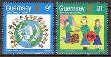 Guernsey - 1985 Youth year - Mi. 320-21 MNH