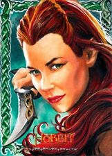 LOTR The Hobbit Desolation Of Smaug Sketch of TAURIEL by CHRIS MEEKS BEAUTIFUL!