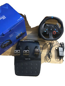 Logitech G29 Steering Wheel, Foot Pedal & Shifter for Playstation (PS4)