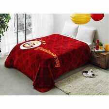 Tac Galatasaray Decke Wolldecke 220x240cm Lizenzierte Orginalware Battaniye