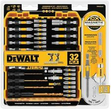 Magnetic Impact Screwdriver Bit Lock Set 32 Piece Kit for Cordless Driver Drill