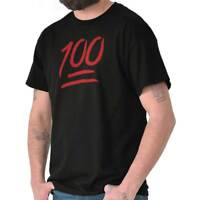 100 Emoji One Hundred Percent   Emoticon T-Shirt