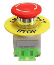 660V 10A torcedura de parada de emergencia botón liberar SETA NC & Sin Conectores
