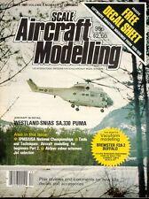 SCALE AIRCRAFT MODELLING SEP 83 WW2 BREWSTER F2A-2 BUFFALO RAF USN / SA.330 PUMA