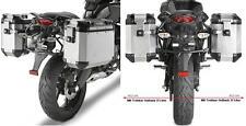 GIVI Seiten-Kofferträger PL4103CAM für Trekker Outback Kawasaki KLE 650 Versys