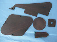 Les Paul Guitar Solid Rosewood Pickguard Back Cover Truss Rod Cover Jack Plate