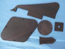 LPStandard Guitar Solid Rosewood Pickguard Back Cover Truss Rod Cover Jack Plate