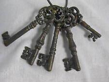Gusseisen Schlüsselbund 5 Schlüssel Dekoschlüssel 12 cm