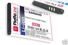 Batteria per Samsung S3650 CORBY S5600 HALLEY Li-ion 960mAh