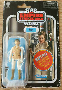 Star Wars Retro Vintage Collection Princess Leia Hoth - Kenner Hasbro