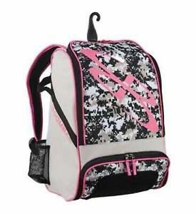 Gray/Pink Boombah Baseball Softball Superpack **BRAND NEW - SHIPS FREE**