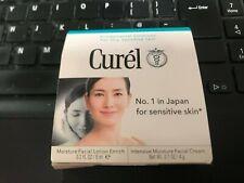 CUREL Moisture Facial Lotion Enrich 8ml & Intensive Moisture Facial Cream 4g