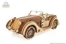 UGears Roadster VM-01 - Wooden Mechanical Model 437Pieces KIT 3D puzzle Assembly