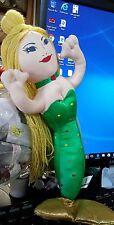 Chicken Of The Sea Tuna Advertising Soft Plush Mermaid 12' Doll