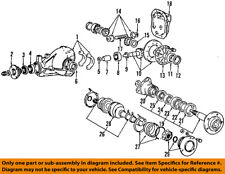CHRYSLER OEM Rear-Axle Seals MD707184