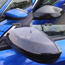 Carbon Fiber Door Side Mirror Cover For Honda Civic 2018 Sedan Coupe Hatchback
