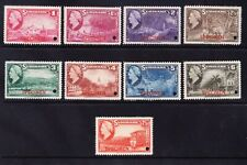 SURINAME SG313/21 set 9 pictorials punched +opt SPECIMEN superb unmounted mint