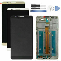For Huawei Ascend Mate7 MT7-TL10 LCD Touch Screen Frame Digitizer Assembly Tools