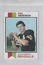 QB Ken Anderson Cincinnati Bengals 1973 Topps Rookie Football Card NM