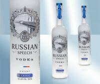 """Vodka """"Russian Speech Classic"""" 40% Водка """"Рашн Спич Классическая"""" 0,7l Wodka"""