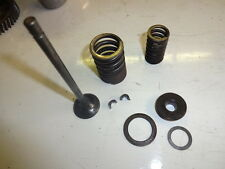 HONDA CG125 EXHAUST VALVE & SPRINGS- POSSIBLY EARLY MODEL 1976-81 Eng No 1255203
