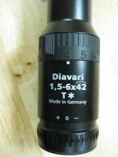 Zeiss Diavari 1.5-6x42mm T* Victory Scope