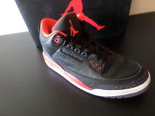 NIKE - Air-Jordan 3 Retro - 136064 005 - Black/Red/Purple - MEN 10.5