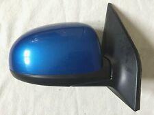 Kia Picanto DRIVER RIGHT Manual Wing Mirror BLUE (2010)