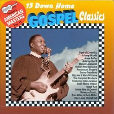 15 Down Home Gospel Classics Aubrey Ghent Johnny Woods Jesse Fuller Black Ace