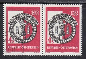 Austria 1980 MNH & CTO NH Mi 1637 Sc 1148 Seal of Hallein