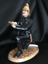 "Vintage Royal Doulton-Large Figurine-Rare and Retired-Fireman Hn4411/8"" Tall"