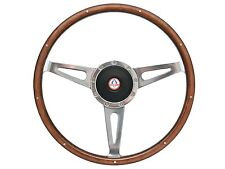 1967 - 1973 Ford Mustang Shelby Style Steering Wheel Kit with Ford Cobra Emblem