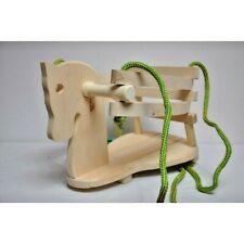 Solid Wood Door Swing Chair Horse Indoor Children Kids Bouncer Strong and Safe