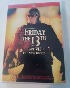 Friday the 13th Part VII the new Blood  DVD *RARE*