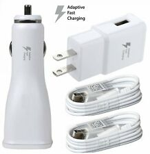 For Samsung Galaxy Note 5 Original Adaptive Quick USB Wall+Car Charger+Cable Set