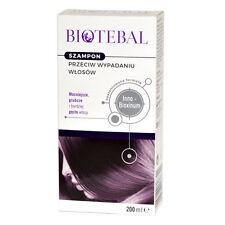 BIOTEBAL szampon przeciw wypadaniu włosów hair loss shampoo 200 ml